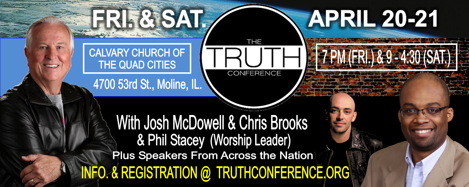 Truth Conference Banner