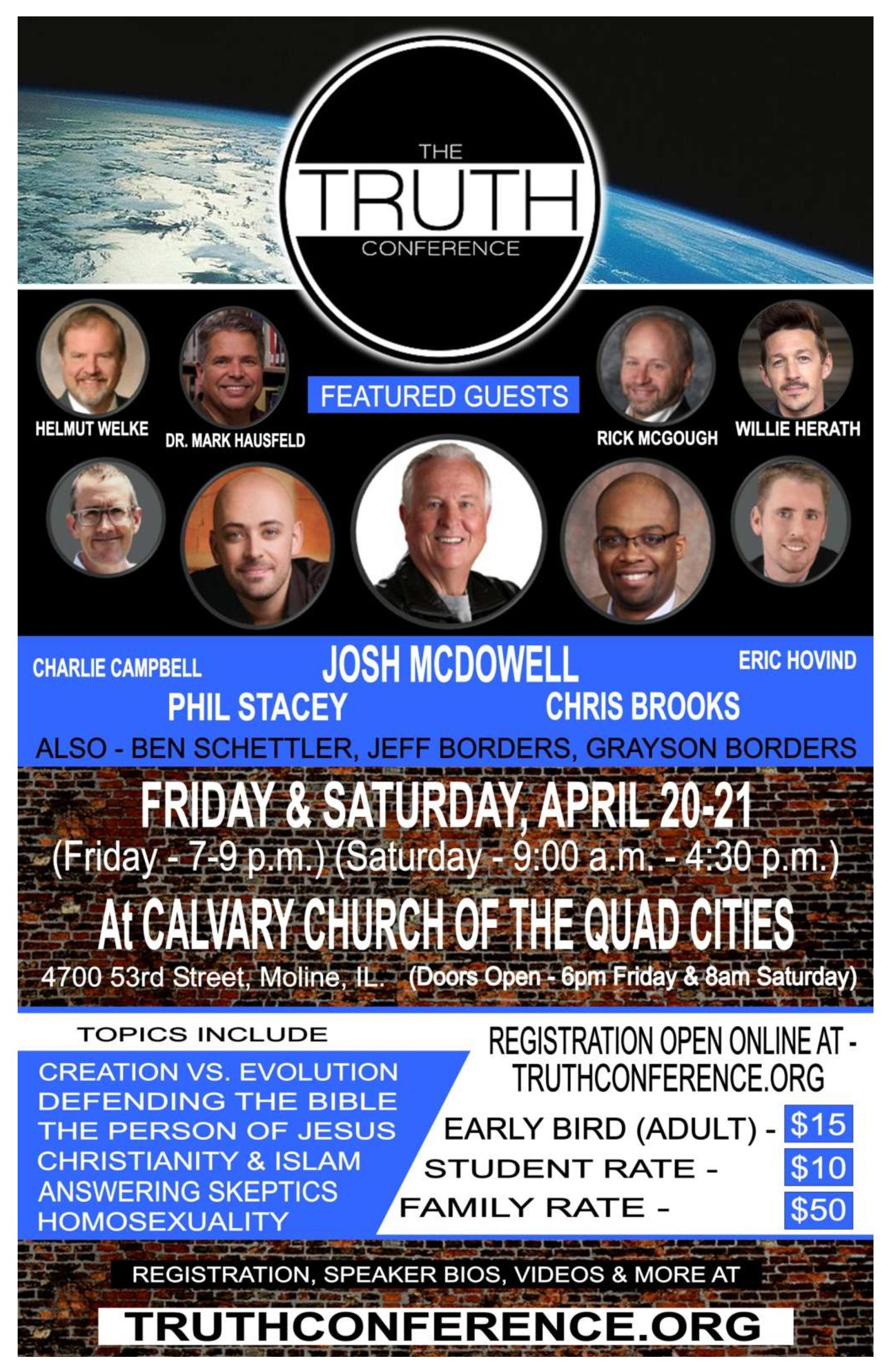 Truth Conference Poster